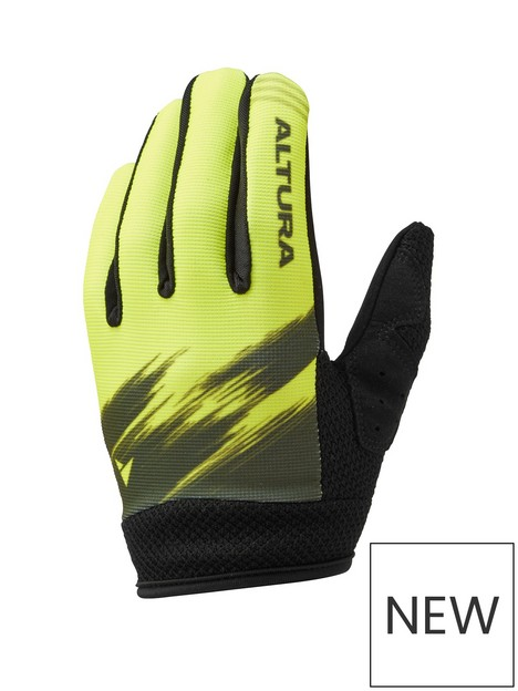 altura-altura-cycling-kids-spark-gloves-yellowlime