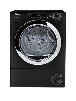Candy Gvsc9Dcgb Grand O'Vita 9Kg Load Condenser Tumble Dryer - Black