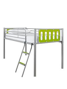kidspace-cyber-mid-sleeper-bed-frame-with-optional-mattress