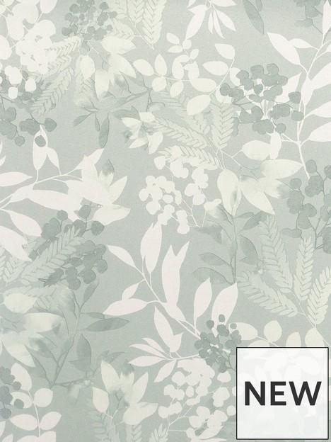 arthouse-soft-leaves-green-wallpaper