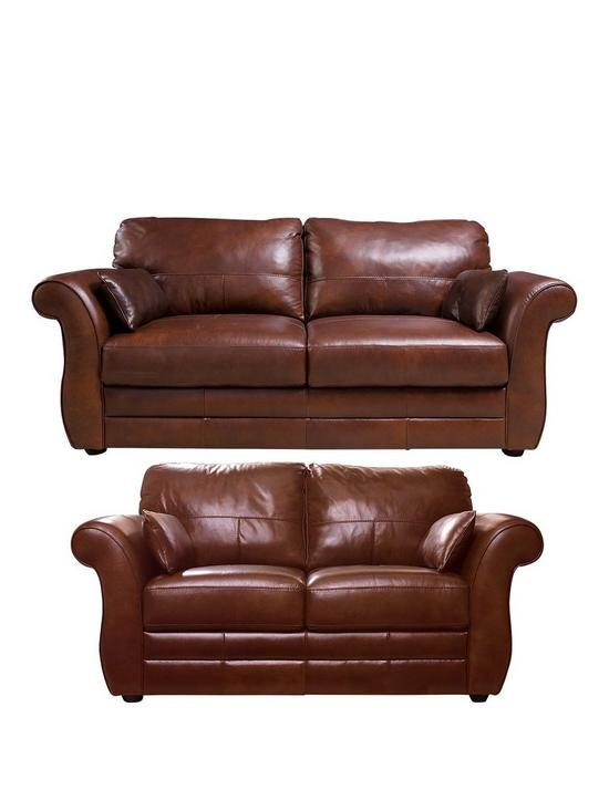 Marvelous Vantage Italian Leather 3 Seater 2 Seater Sofa Set Buy And Save Download Free Architecture Designs Scobabritishbridgeorg