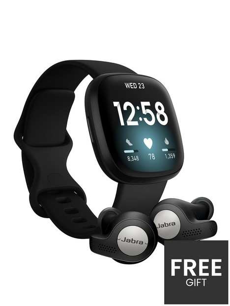 fitbit-versa-3-smartwatch-blackblack-with-jabra-elite-65t-active-earphones-titanium-black