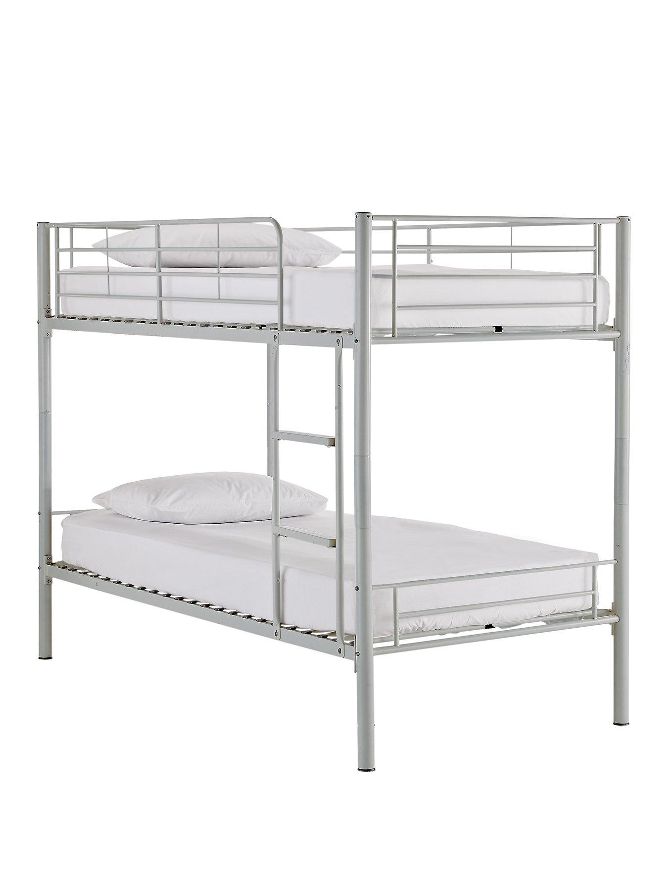 White Metal Bunk Beds Cheaper Than Retail Price Buy Clothing Accessories And Lifestyle Products For Women Men