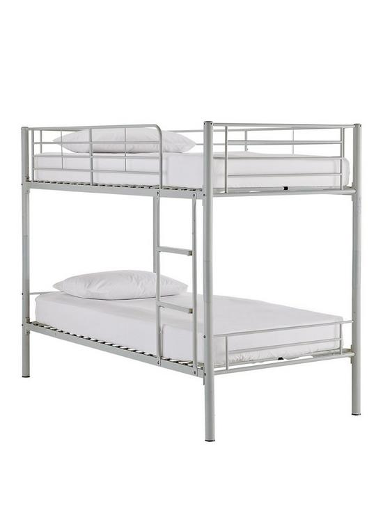 Superbe Domino Metal Bunk Bed Frame With Mattress Options