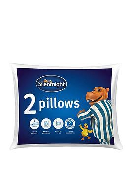 Silentnight Hippo &Amp; Duck Range Pillow Pair