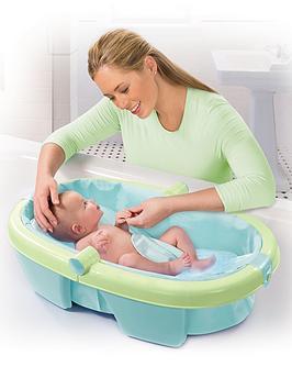 summer infant folding baby bath tub. Black Bedroom Furniture Sets. Home Design Ideas