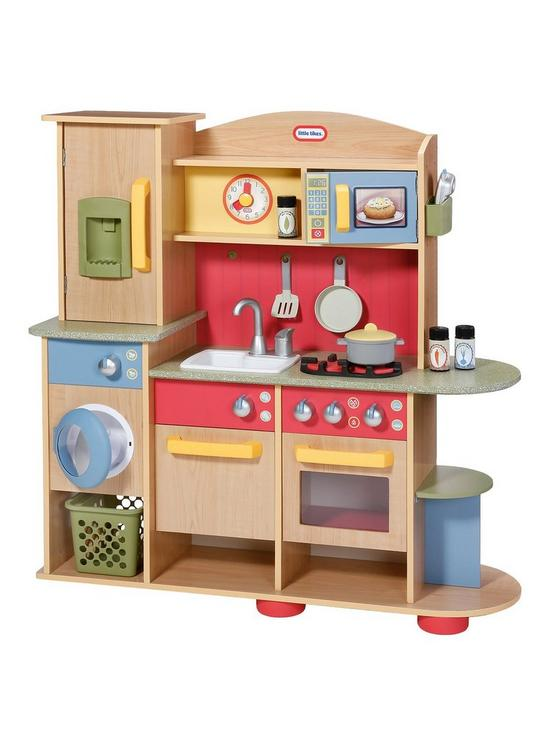 little tikes premium wood home and kitchen very co uk rh very co uk  walmart little tikes kitchen set
