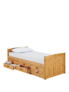 kidspace-georgie-solid-pine-single-storage-bed-frame