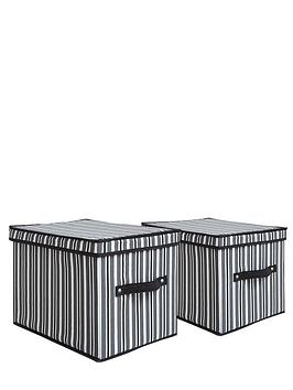 ideal-striped-storage-boxes-2-pack