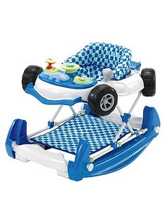 My Child Car Baby Walker Rocker in Blue