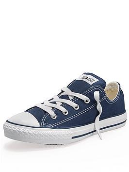 converse-all-star-ox-junior-kids-plimsolls-navy