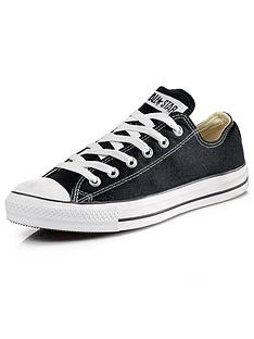 7ffb9717961045 Converse Chuck Taylor All Star Ox Plimsolls - Black