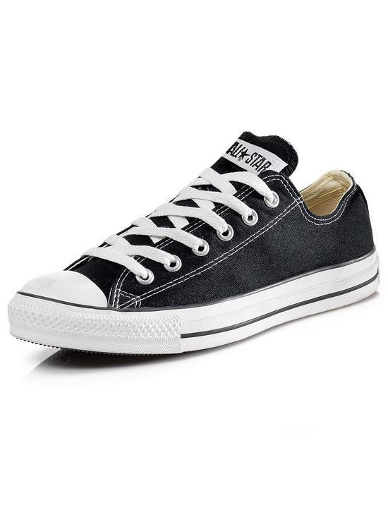 497c5df80b2734 Converse Chuck Taylor All Star Ox Plimsolls - Black
