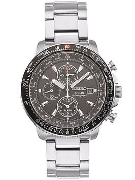 seiko-silver-solar-mens-watch