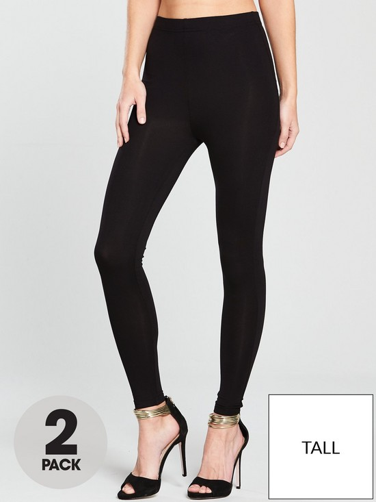 b1dbff7c57e V by Very Tall High Waisted Leggings (2 pack)