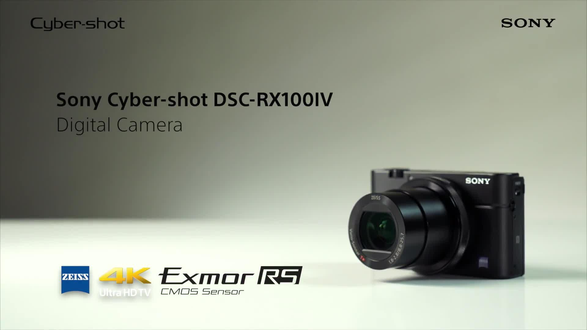 Sony Cybershot Dsc Rx100m4 4k Premium Digital Compact Camera With 40 Rx100 M4 X Slow Motion