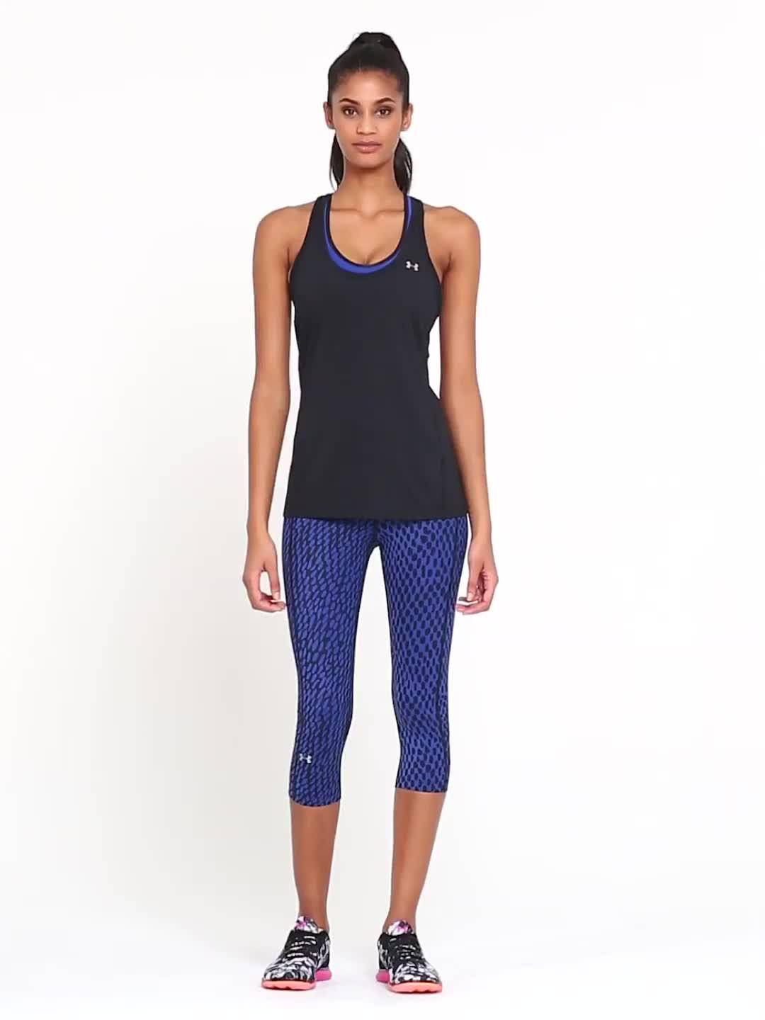 b345daad2509f UNDER ARMOUR HeatGear® Armour Racer Tank | very.co.uk