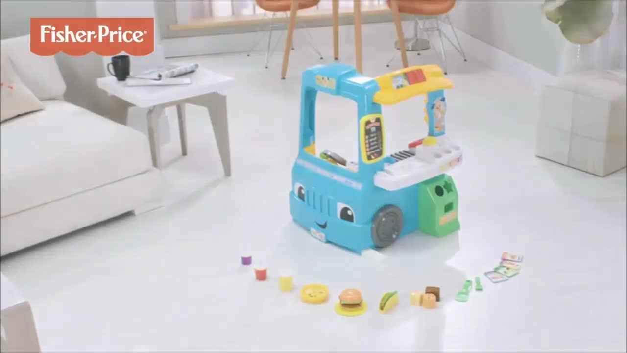 Fisher-Price Laugh & Learn Servin\' Up Fun Food Truck | very.co.uk