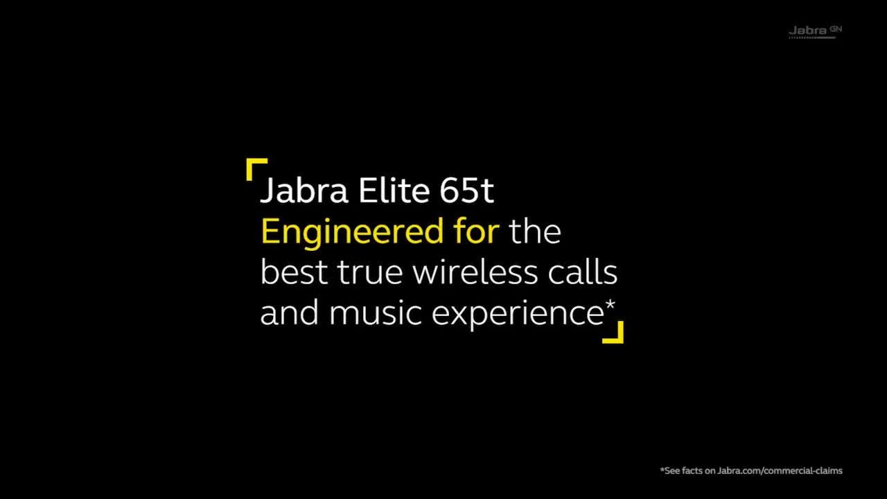 Elite 65t Truly Wireless Earbuds with Bluetooth® 5 0 and IP55 rating