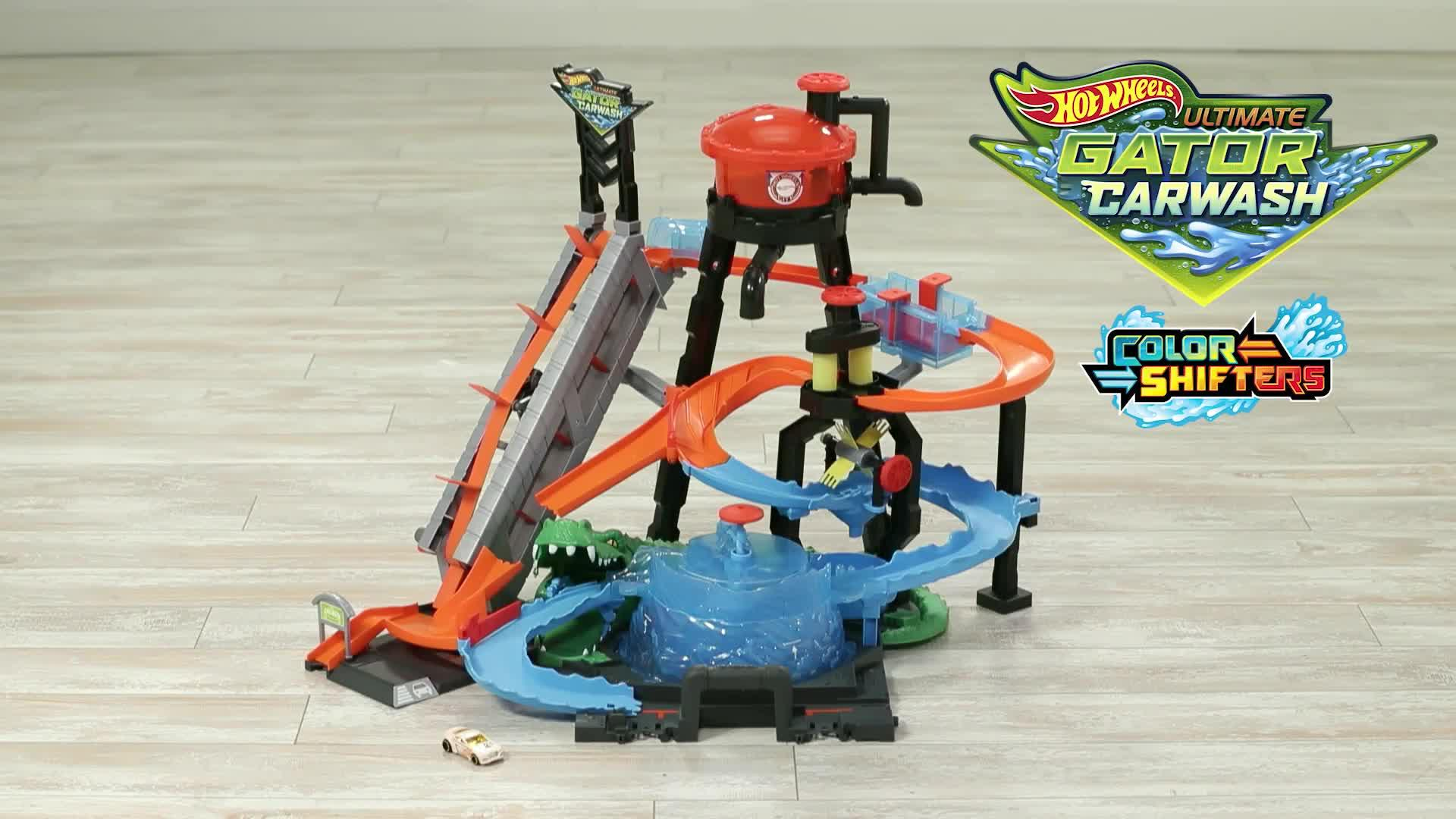 City Ultimate Gator Car Wash Connectable Play Set