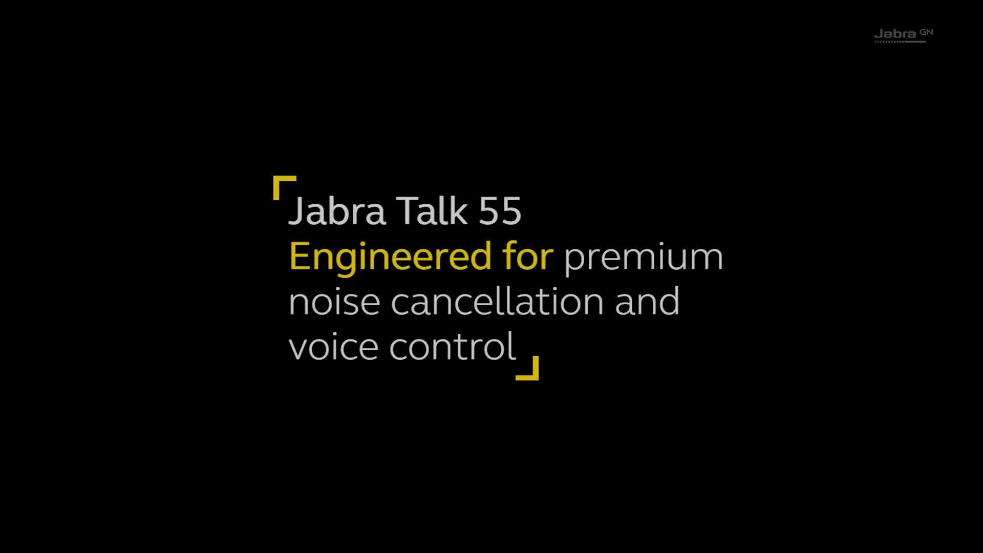 Jabra Talk 55 Bluetooth In Car Headset Black 2 With Hd Voice Technology