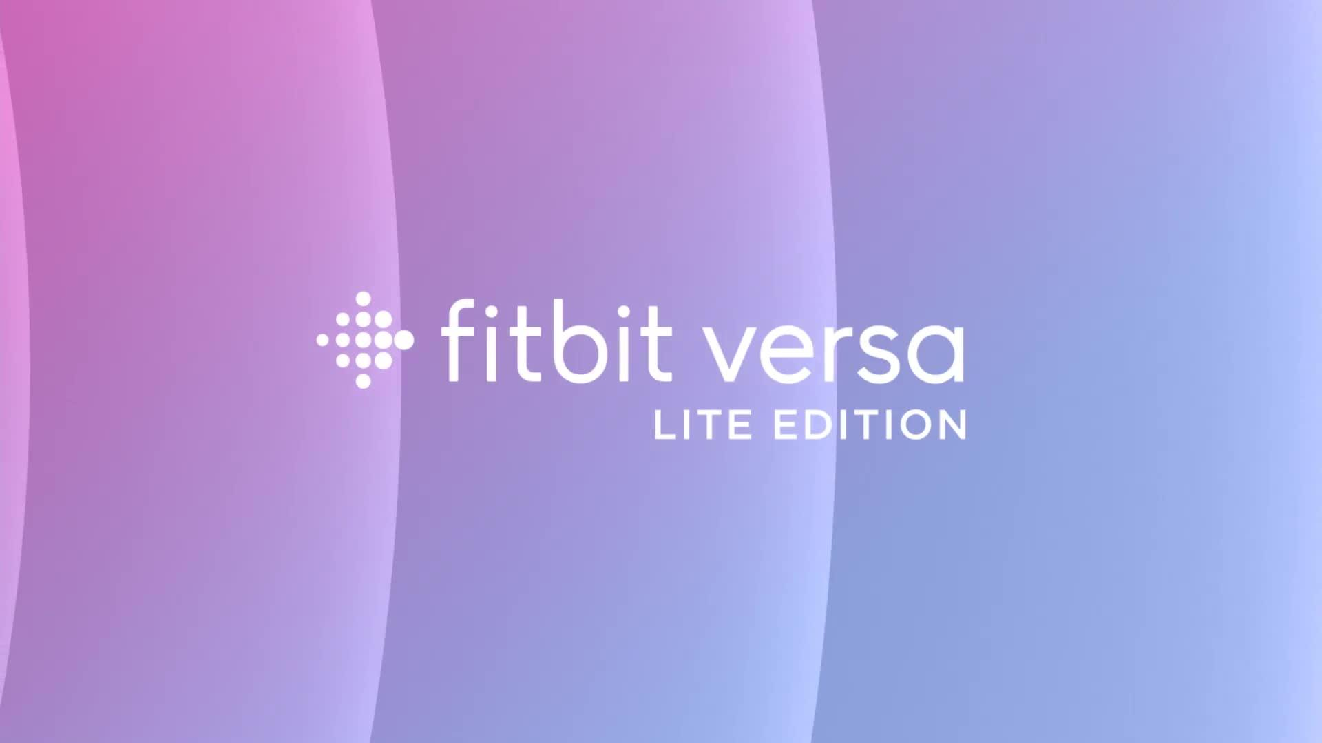 Fitbit Versa Lite Charcoal | very co uk